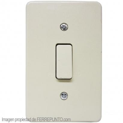 Interruptor sencillo para empotrar modelo clasico en - Interruptores clasicos ...