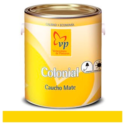Pintura de caucho marca vp colonial de 1 galon color - Pintura color oro ...