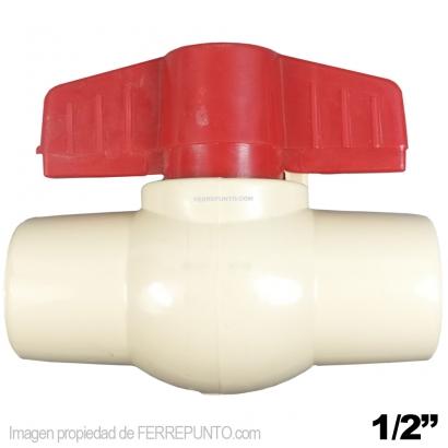 Llave de paso de pega de 1 2 pulgada de agua caliente en for Llave paso agua